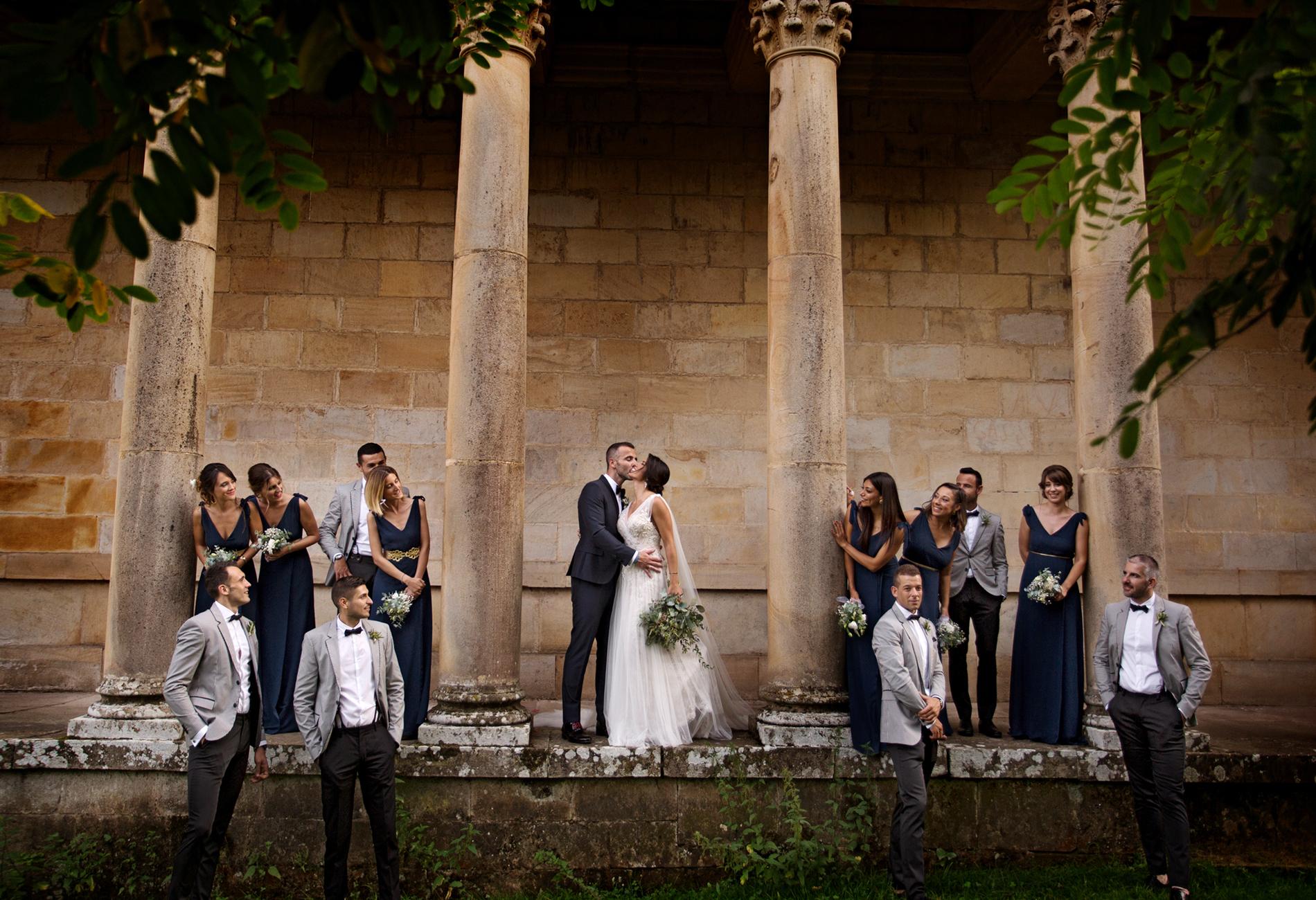 Las mejores ideas de fotografías de boda con amigos